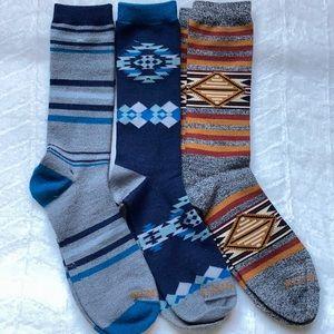 (3) Pendleton Wool Blend Socks
